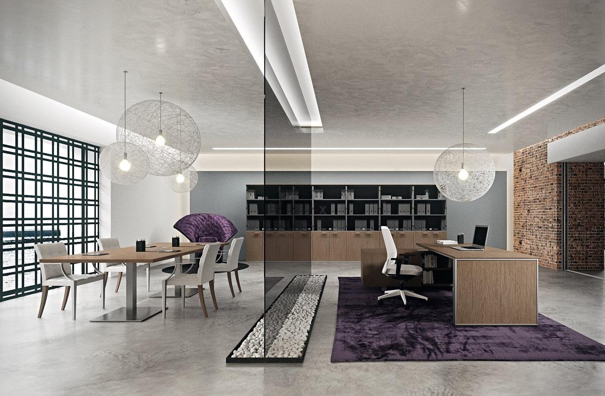 Луксозни директорски офис мебели от МДФ