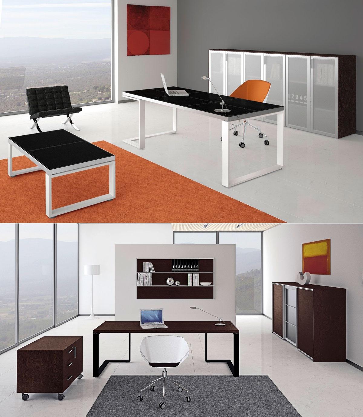 Офис мебели за мениджъри от ПДЧ